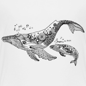 South Seas Toddler Singing Whales T shirt - Toddler Premium T-Shirt