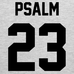 Psalm 23 - Men's Tank Top - Men's Premium Tank