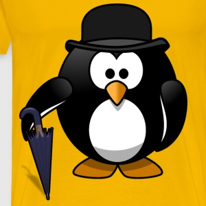 Gentleman penguin - Men's Premium T-Shirt
