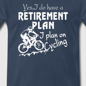 Cycling plan - Men's Premium T-Shirt