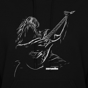 Guitar Player Sketch Hoodies - Women's Hoodie