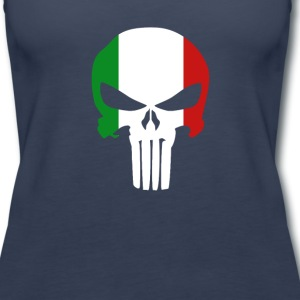 The Punisher Italian T-shirt Tanks - Women's Premium Tank Top