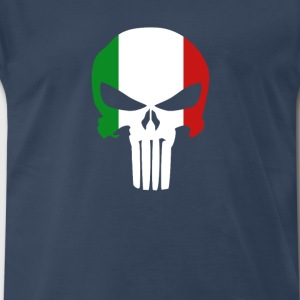 The Punisher Italian T-shirt T-Shirts - Men's Premium T-Shirt