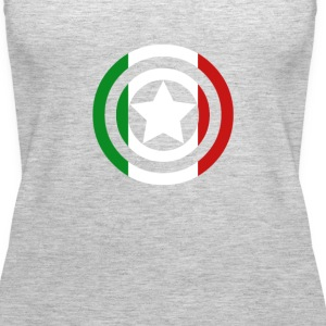Captain America Italian T-shirt Tanks - Women's Premium Tank Top