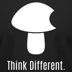 Think Different. - Men's T-Shirt by American Apparel