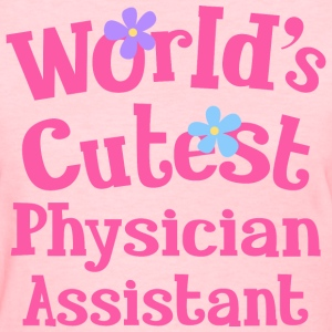 Physician Assistant (Cute) Women's T-Shirts - Women's T-Shirt