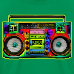 Boombox Art - Men's Premium T-Shirt