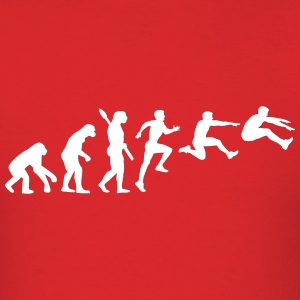 Evolution Long jump T-Shirts - Men's T-Shirt
