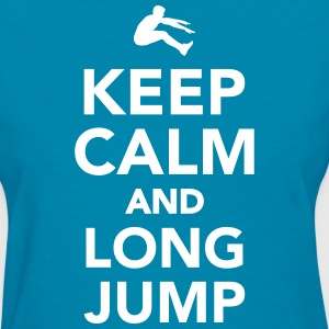 Keep calm and Long Jump Women's T-Shirts - Women's T-Shirt