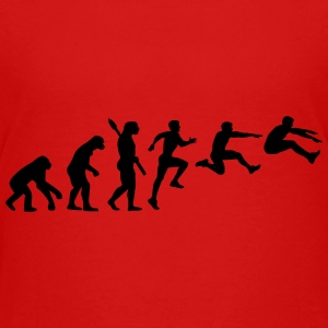 Evolution Long jump Kids' Shirts - Kids' Premium T-Shirt