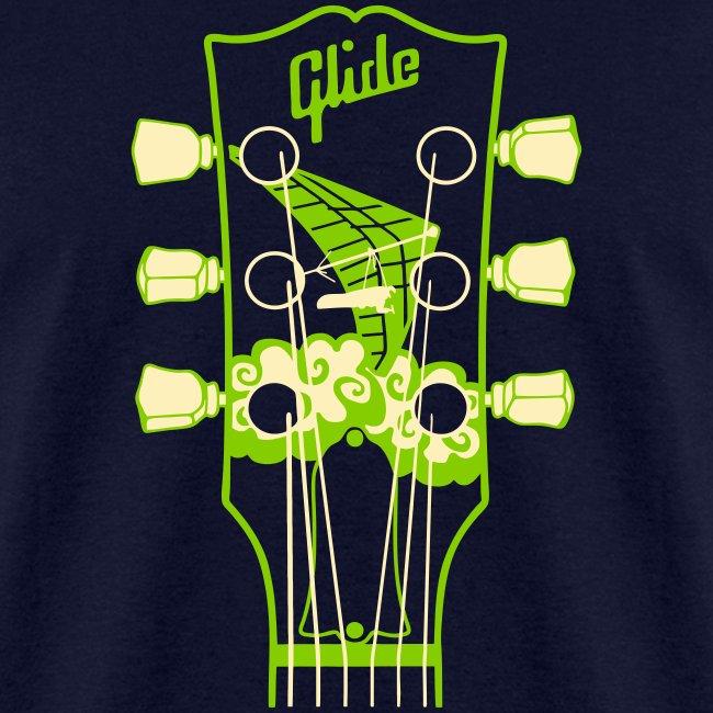 Glide Men's T-shirt (green/cream)