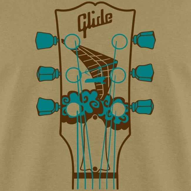 Glide Men's T-shirt (brown/teal)