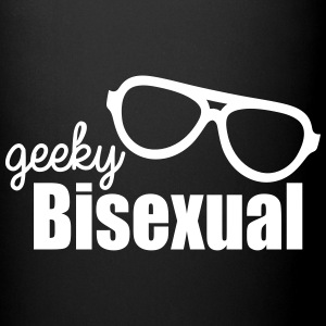 Geeky Bisexual LGBT Pride Mugs & Drinkware - Full Color Mug