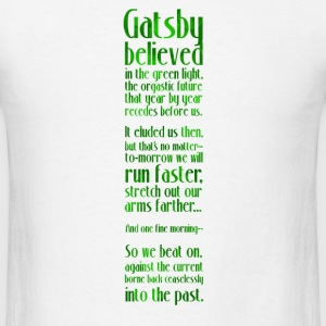 Gatsby and the Green Light - Men's T-Shirt