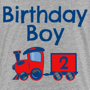 Birthday Boy Train 2 Baby & Toddler Shirts - Toddler Premium T-Shirt