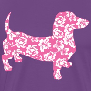 Aloha-Doxie-Pink T-Shirts - Men's Premium T-Shirt