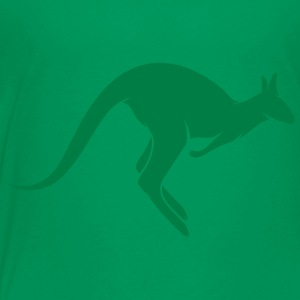 A hopping kangaroo Baby & Toddler Shirts - Toddler Premium T-Shirt