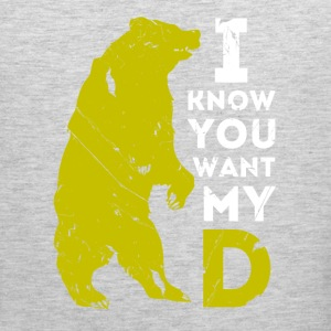 I know you want my Beard T-shirt Tank Tops - Men's Premium Tank