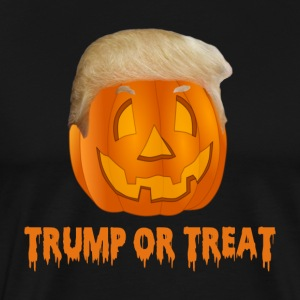 Trump Or Treat Men's Premium T-shirt - Men's Premium T-Shirt