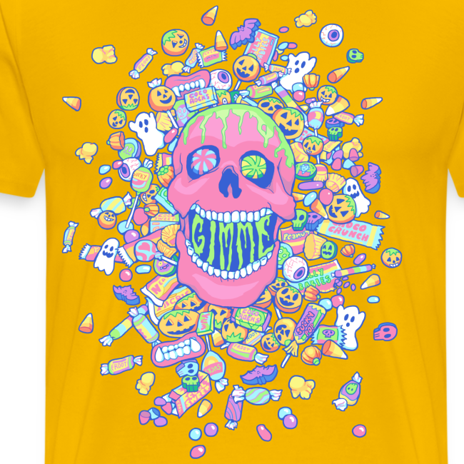 Gimme Candy Shirt - Man's, Pastel