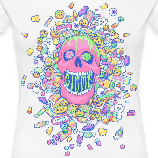 Gimme Candy Shirt - Woman's, Pastel