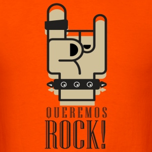 Queremos Rock - Men's T-Shirt