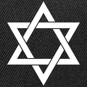 Star of David Judaism Isr Caps - Snap-back Baseball Cap