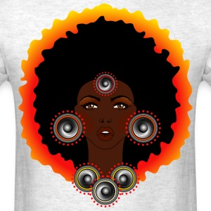 AFROCENTRIC WOMAN OF MUSIC - Men's T-Shirt