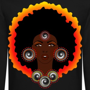 AFROCENTRIC WOMAN OF MUSIC - Crewneck Sweatshirt