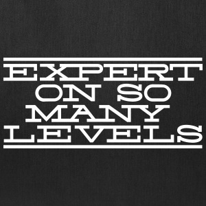 Expert On So Many Levels Bags & backpacks - Tote Bag