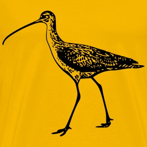 Long Billed Curlew - Men's Premium T-Shirt