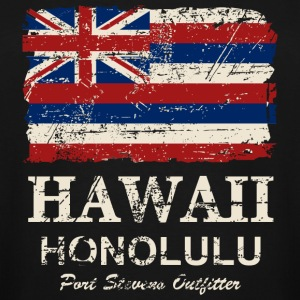 Hawaii Flag - Vintage Look  T-Shirts - Men's Tall T-Shirt