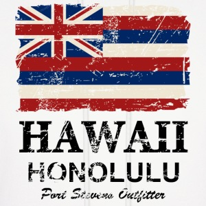 Hawaii Flag - Vintage Look  Hoodies - Men's Hoodie