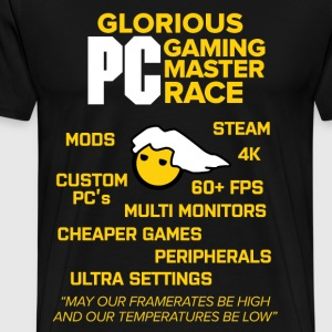 Glorious PC Gaming Master Race - Men's Premium T-Shirt