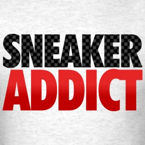 sneaker addict carbon fiber T-Shirts - Men's T-Shirt