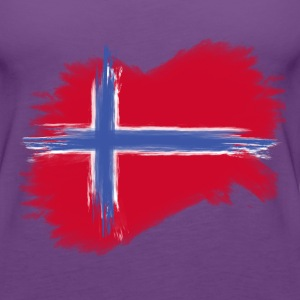 norway flag norge flag Tanks - Women's Premium Tank Top
