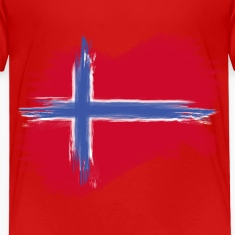norway flag norge flag Baby & Toddler Shirts