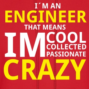Crazy Engineer Hoodies - Men's Hoodie