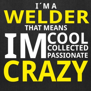 Crazy Welder Bags & backpacks - Tote Bag