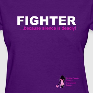 Domestic Violence Fighter Tee Women's T-Shirts - Women's T-Shirt