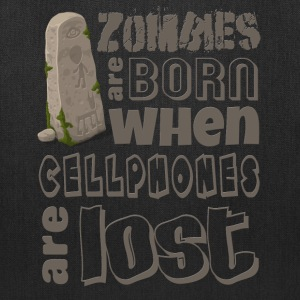 zombies-are-born Bags & backpacks - Tote Bag
