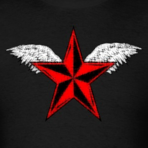 Tathered Star T-Shirts - Men's T-Shirt