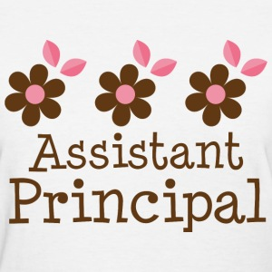 Assistant Principal flowered Women's T-Shirts - Women's T-Shirt