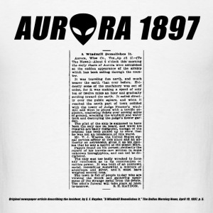 Aurora UFO 1897 - Men's T-Shirt