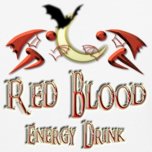 Red Blood Energy Drink Deux - Baseball T-Shirt