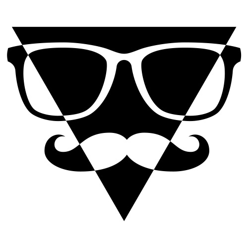 Hipster Triangle down 1