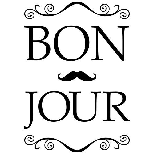 Bonjour - Moustache