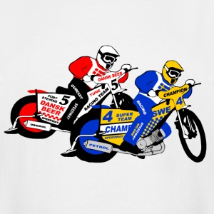 Speedway Racing T-Shirts - Men's Tall T-Shirt