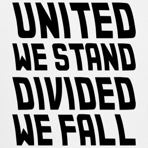 united we stand divided we fall Caps - Trucker Cap