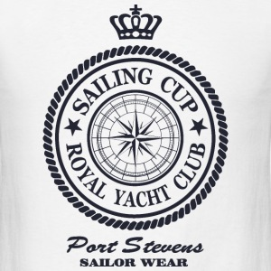 Sailing Cup - Royal Yacht Club T-Shirts - Men's T-Shirt